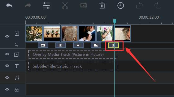 How to Remove Transitions in Windows Movie Maker step 1