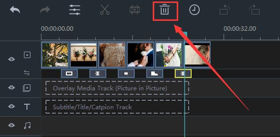 How to Remove Transitions in Windows Movie Maker step 2