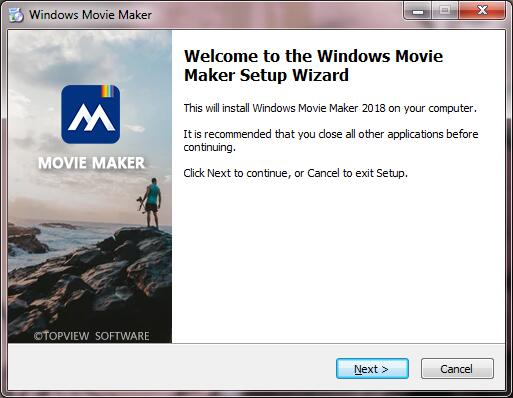 How to Install Windows Movie Maker Step 3