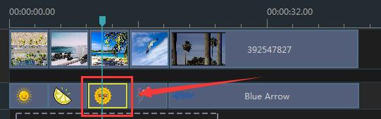 How to Adjust Element Color in Windows Movie Maker step 1