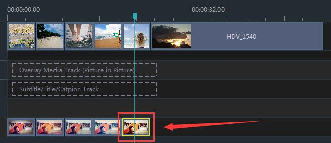 How to Set Duration for Filters in Windows Movie Maker step 1